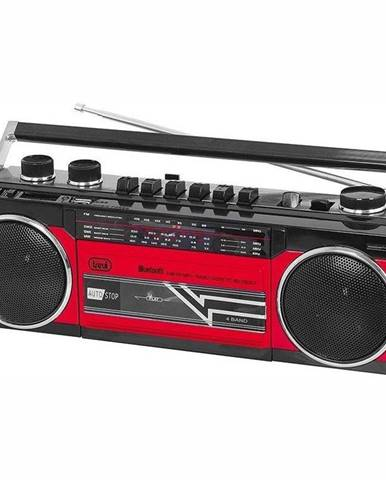 Rádiomagnetofón Trevi RR 501 BT červen