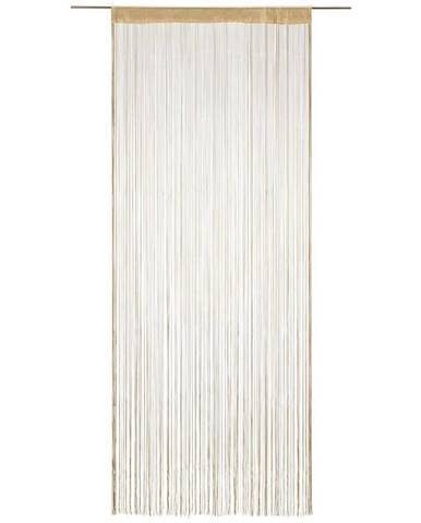Nitkový Záves Franz, 90/245 Cm, Béžová
