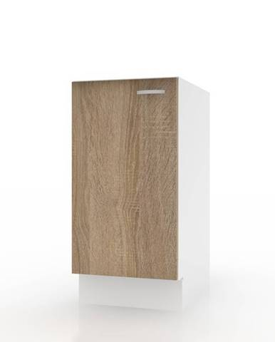 Spodná skrinka POLAR II dub sonoma/biela, 40 cm