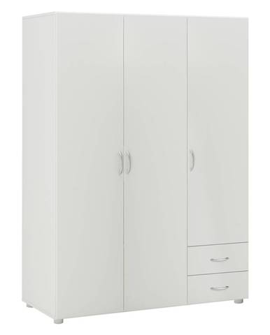 Skriňa 3-dverová BEST biela