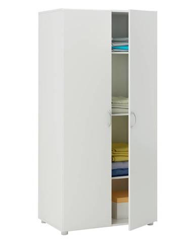 Skriňa policová 2-dverová BEST biela
