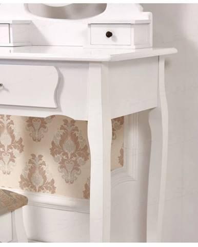 Tempo Kondela Toaletný stolík s taburetom