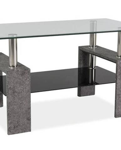 Signal Konferenčný stolík LISA III / sivý kameň