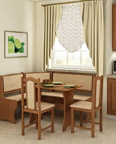 WIP Rohový set so stoličkami