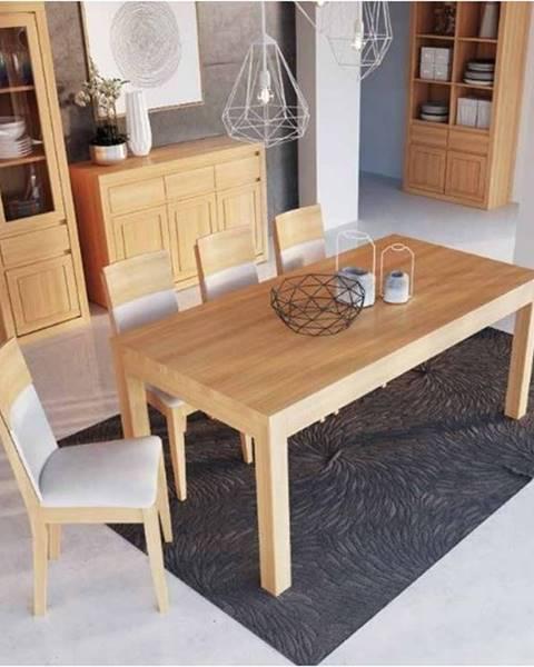 Drewmax Drewmax Jedálenský stôl - masív ST300 - hrúbka 2