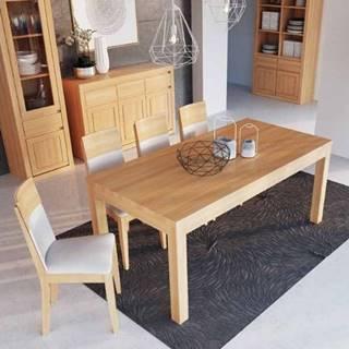 Drewmax Jedálenský stôl - masív ST300 - hrúbka 2