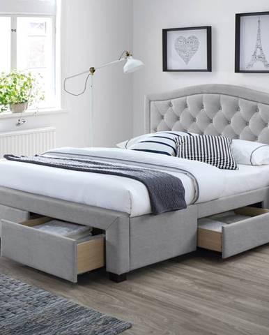 Signal Manželská posteľ Electra VELVET