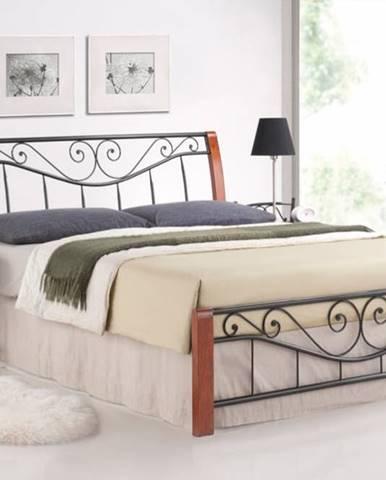 Signal Manželská posteľ PARMA / 160 čerešňa