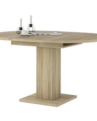 Jedálenský stôl LEO LEOT04 dub sonoma