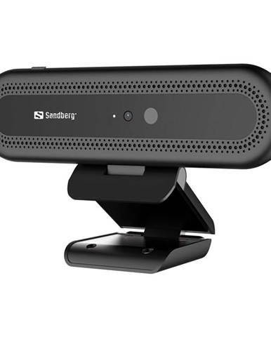 Webkamera Sandberg Webcam Face Recognition 1080p čierna