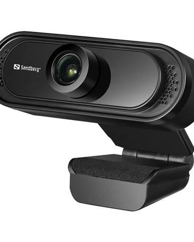 Webkamera Sandberg Webcam Saver 1080p čierna