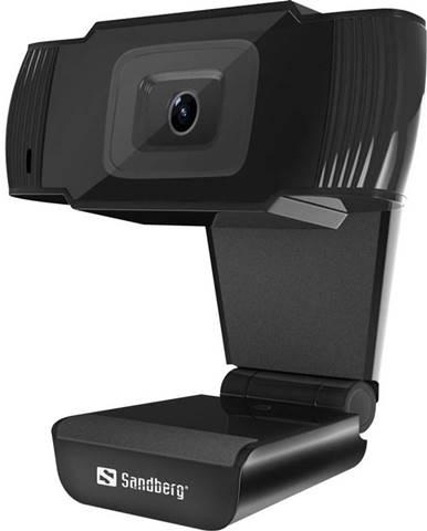 Webkamera Sandberg Webcam Saver čierna