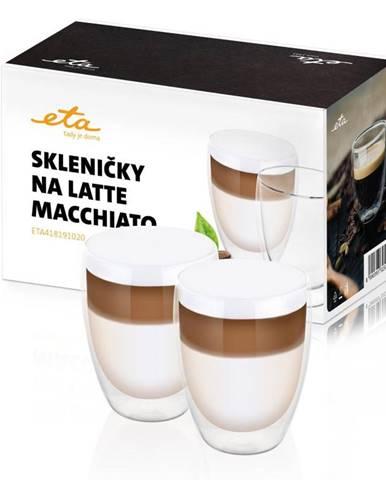 Poháre na latte macchiato ETA 4181 91020 sklo