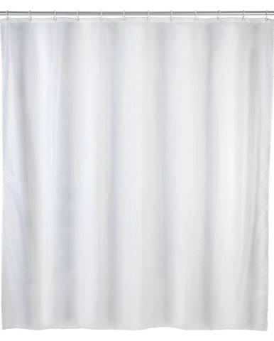 Biely sprchový záves Wenko Daylight