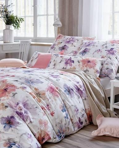 BAUER Bavlnené obliečky Livia, 140 x 200 cm, 70 x 90 cm