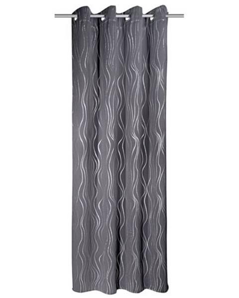 Albani Albani Zatemňovací záves Vegas sivá, 135 x 245 cm