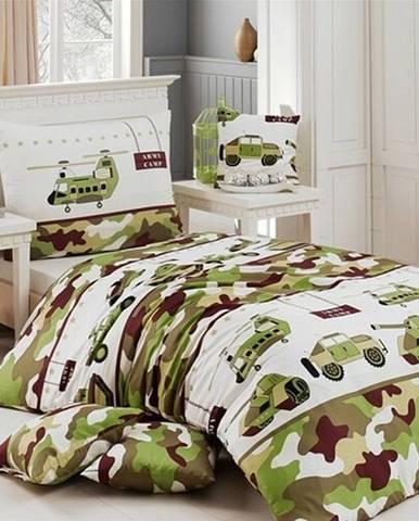 Matějovský bavlnené obliečky Army, 140 x 200 cm, 70 x 90 cm