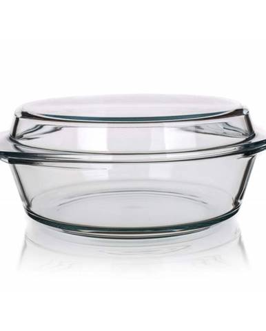 Simax Pekáč sklenený okrúhly s vekom 5,1l,