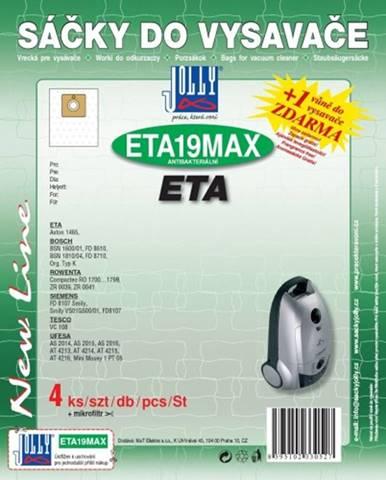 Vrecká do vysávača Eta ETA 19 MAX, 8ks