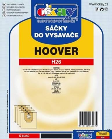 Vrecká do vysávača Hoover H26, 10ks