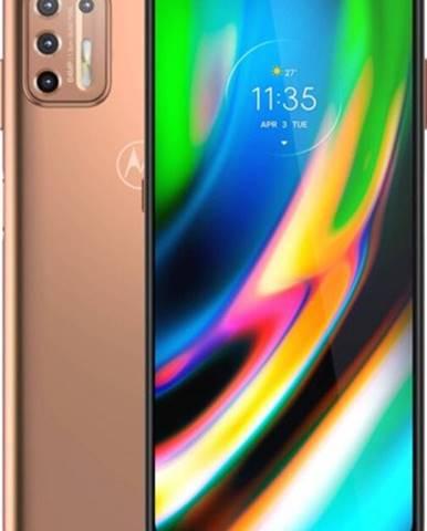 Mobilný telefón Motorola G9 Plus 4GB/128GB, zlatá