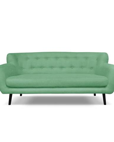 Zelená pohovka Cosmopolitan design Hampstead, 192 cm