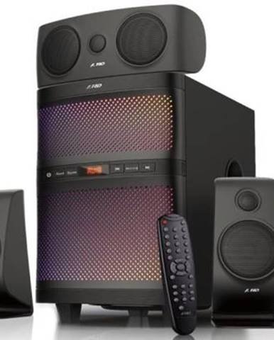 Reproduktory Fenda F&D F5060X 5.1, bluetooth, rádio, USB, SD,