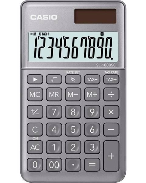 Casio Kalkulačka Casio SL 1000 SC GY siv