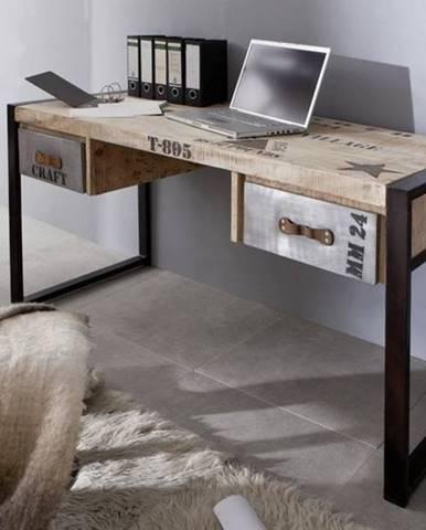 FABRICA Písací stôl 150x70 cm, mango