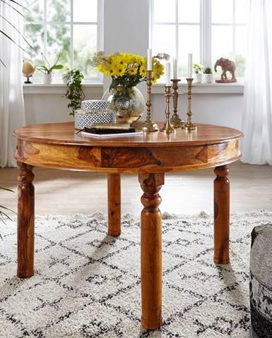CAMBRIDGE HONEY Jedálenský stôl 140x140 cm, akácia