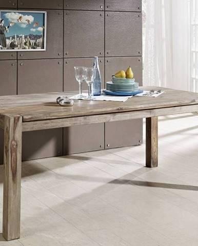 GREY WOOD Jedálenský stôl 140x90 cm, palisander