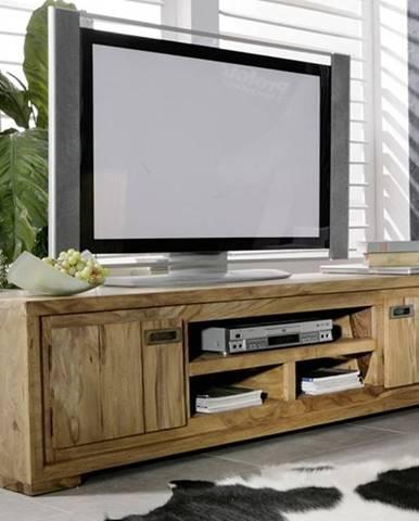 LIGHT WOOD TV stolík 180x40 cm, palisander