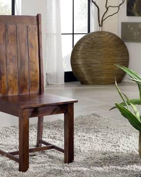 Bighome.sk CAMBRIDGE Jedálenská stolička drevená, akácia