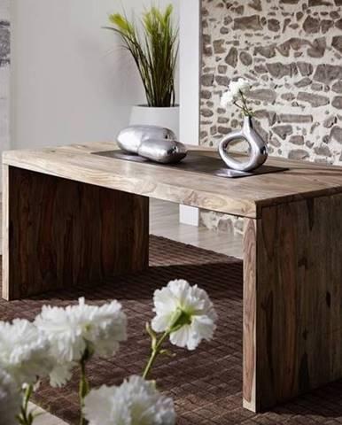 GREY WOOD Písací stôl 178x75 cm, palisander
