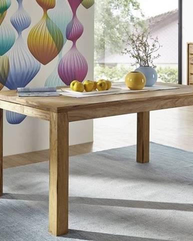 LIGHT WOOD Jedálenský stôl 120x90 cm, palisander