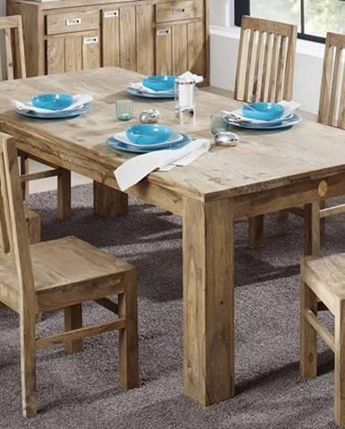 LIGHT WOOD Jedálenský stôl 200x100 cm, palisander