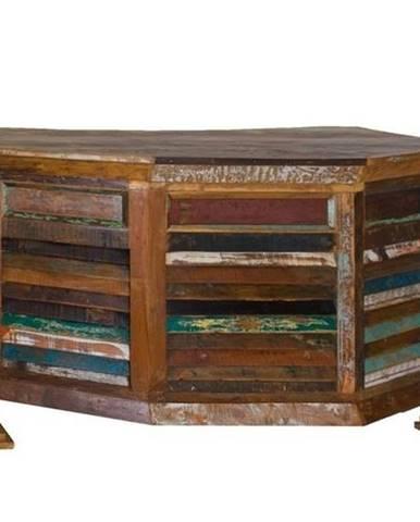 OLDTIME Písací stôl 170x70 cm, staré drevo