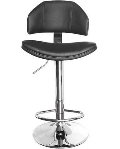 Barová stolička Kwazar čierna 7373