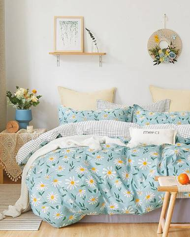Bavlnená saténová posteľná bielizeň ALBS-01216B