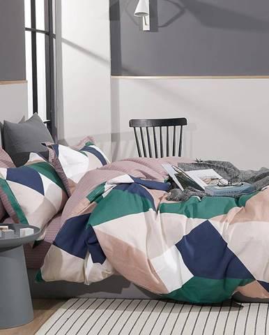 Bavlnená saténová posteľná bielizeň ALBS-01219B 200X220