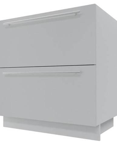 Skrinka do kuchyne Essen grey D2E/80/1E