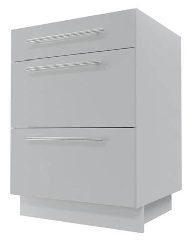 Skrinka do kuchyne Essen grey D3M/60