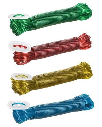 Šnúra na vešanie PVC 20M s oceľovým lankom