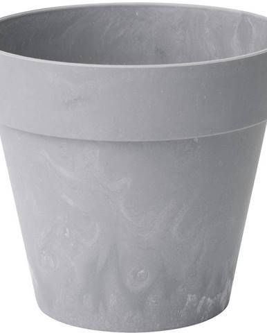 Kvetináč  Ibiza beton jasný 12 cm