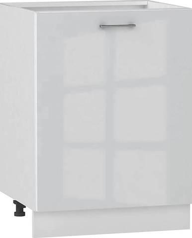 Skrinka do kuchyne Alvico D60 P/L luxe blanco BB
