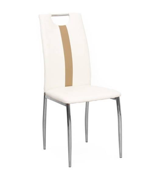 Kondela Signa jedálenská stolička biela