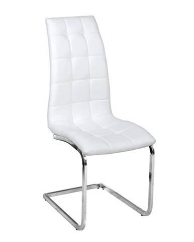 Dulcia jedálenská stolička biela
