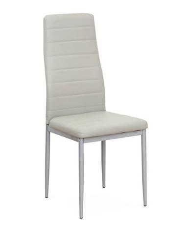 Coleta New jedálenská stolička sivá
