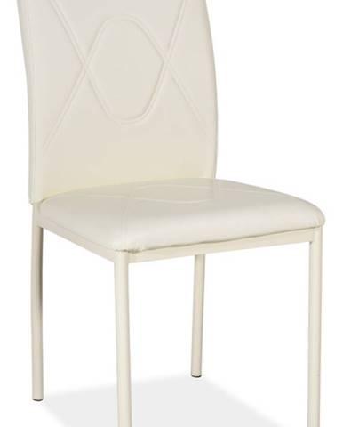 H-623 jedálenská stolička krémová