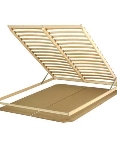 Basic Flex 3-zónový lamelový rošt 160x200 cm brezové drevo